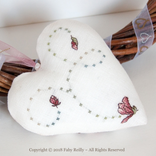 Magnolia Heart - Faby Reilly Designs