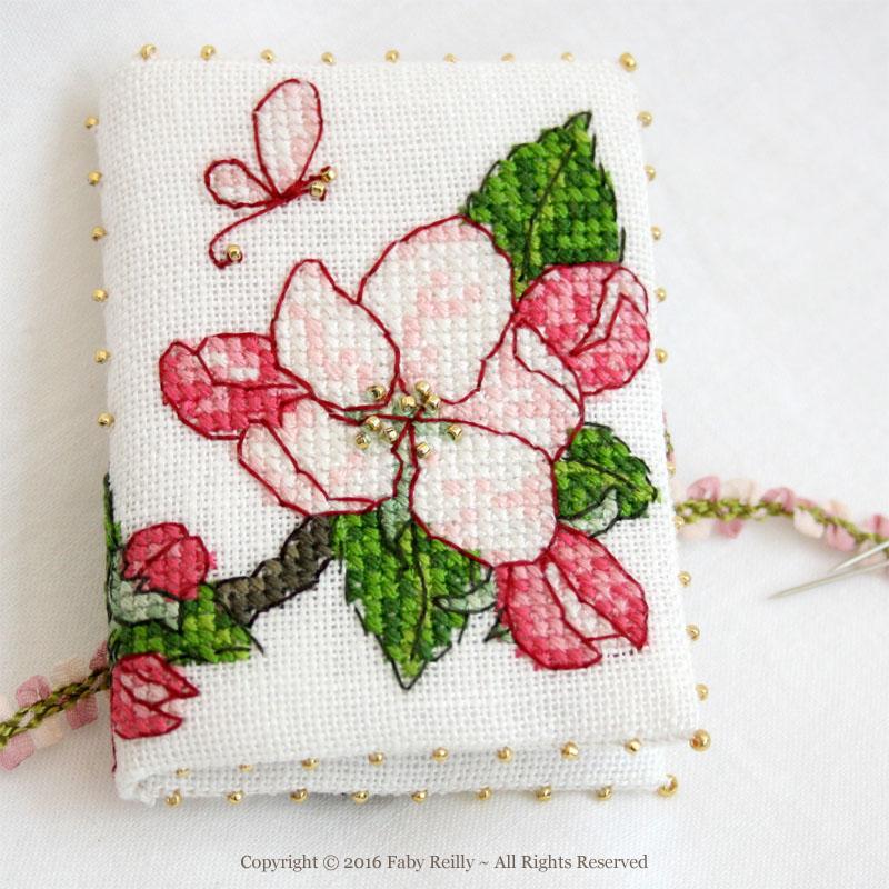 Apple Blossom Needlebook