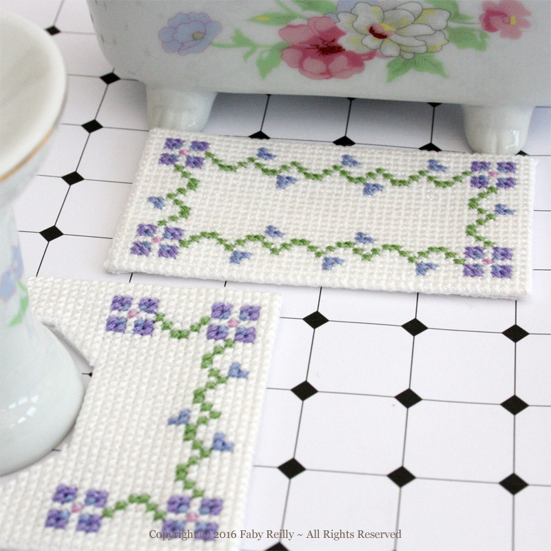 Doll House Bathroom Mats
