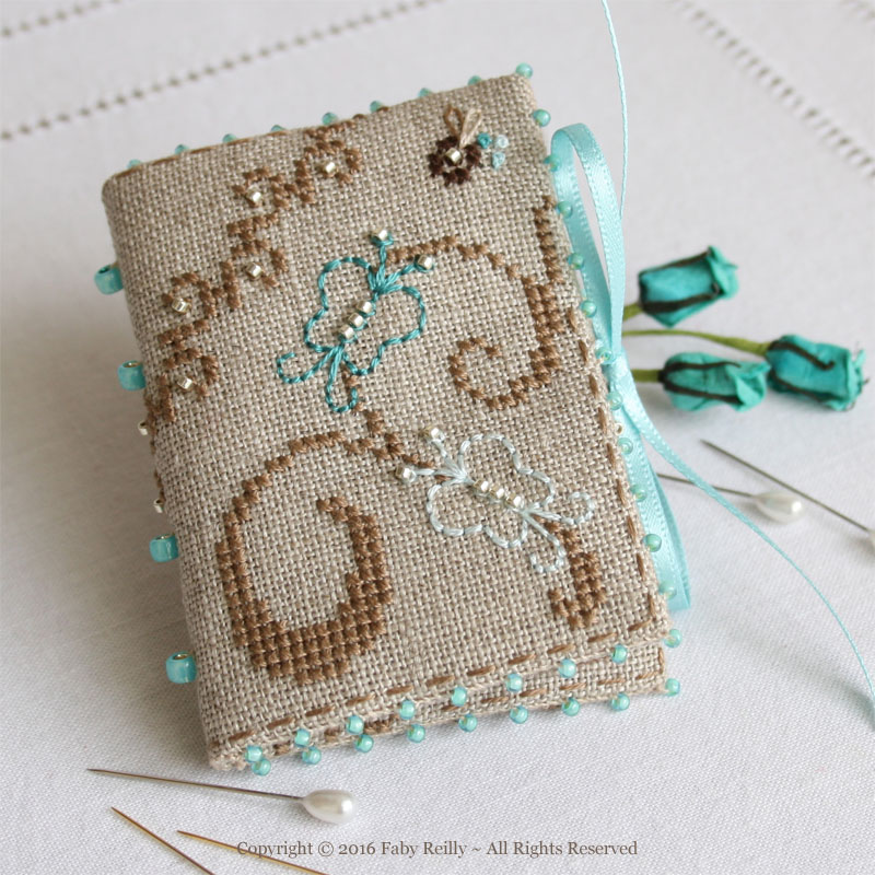 Butterfly Needlebook