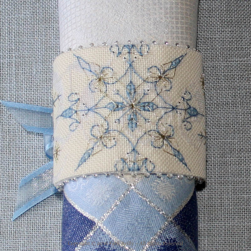 Frosty Napkin Ring
