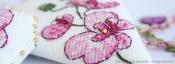 Plum Orchid Scissor Case