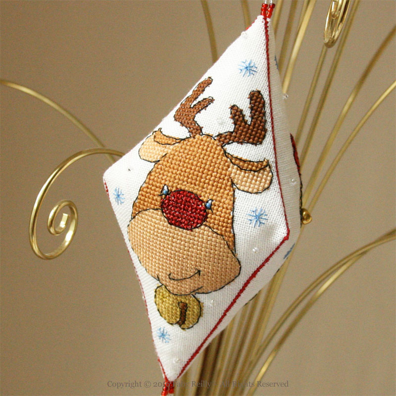 Rudolph the Reindeer Pendant