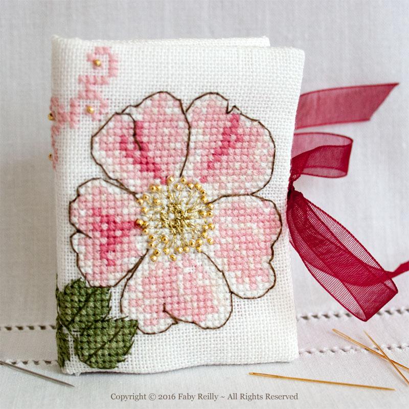 Wild Rose Needlebook