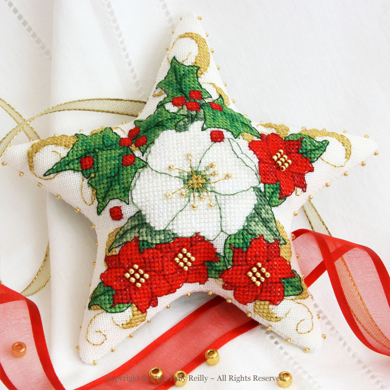 Christmas Rose Star