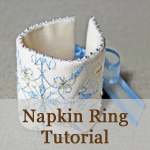 Napking Ring Tutorial