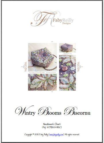 Wintry Blooms Biscornu
