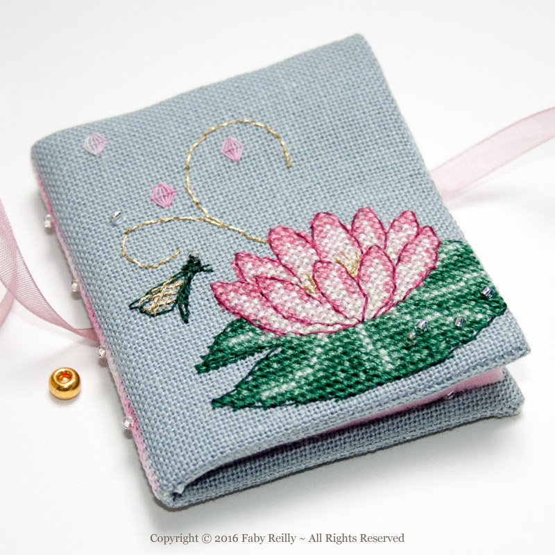 Pink Lotus Needlebook