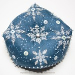 Let it Snow Biscornu - Faby Reilly Designs