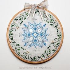 Snowflake Hoop - Faby Reilly Designs