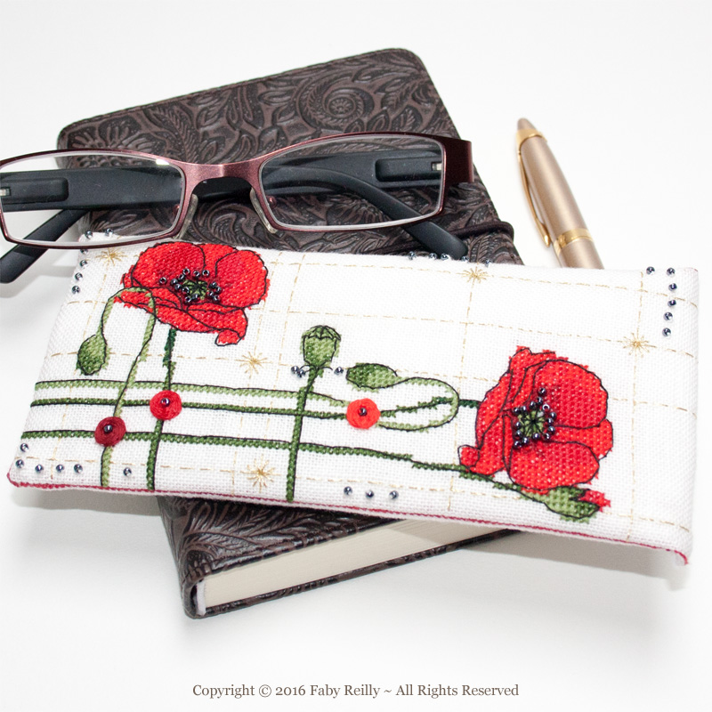 Poppy Glasses Case - Faby Reilly Designs