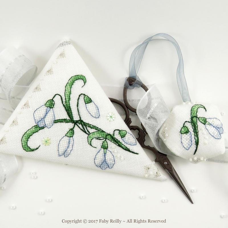 Snowdrop Scissor Case