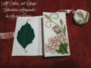 Lizzie Wallet stitched by Antonietta