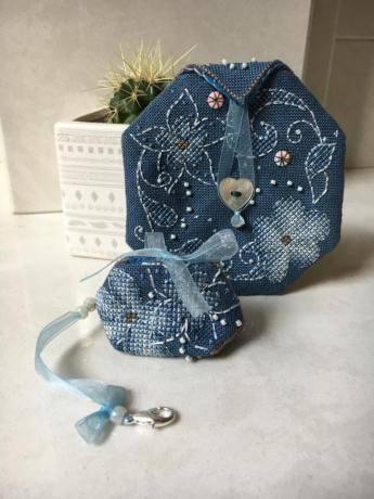 Flora Pouch stitched by Colette