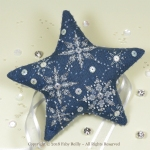 Let it Snow Star - Faby Reilly Designs