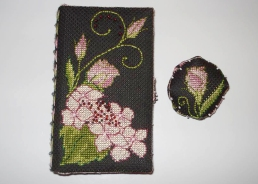 Lizzie Wallet stitched by Marie-Claire