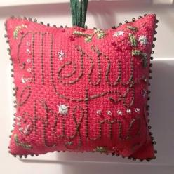 Christie SAL - stitched by Karen